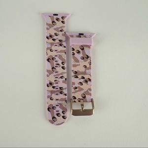 Watch band for Apple Watch 38mm Pink camo
